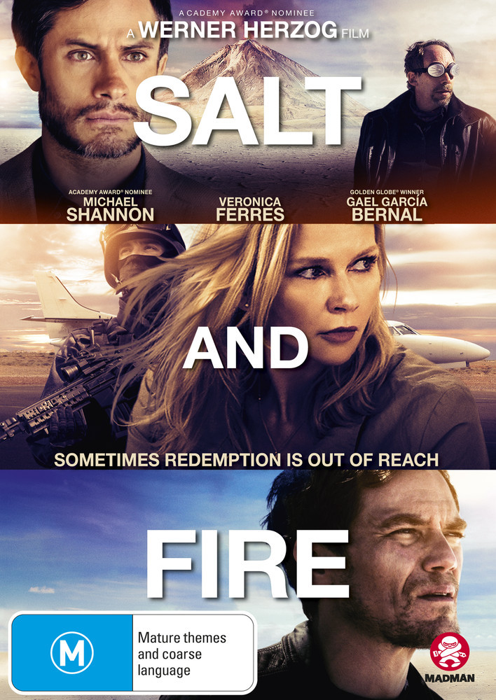 Salt And Fire on DVD image