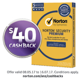Norton Security Premium for Five Devices - 1 Year License