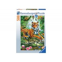 Ravensburger: Tiger In The Jungle - 500pc