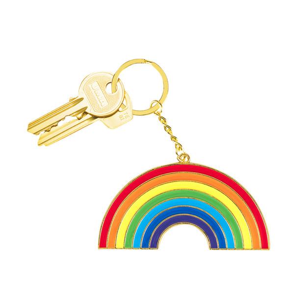 Doiy: Oversized Keyring - Rainbow