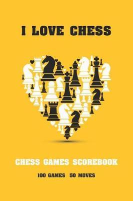 I Love Chess by Michelia Creations