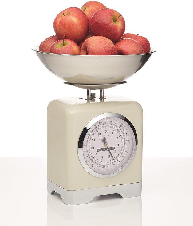 KitchenCraft: Lovello Mechanical Scales 5kg - Cream