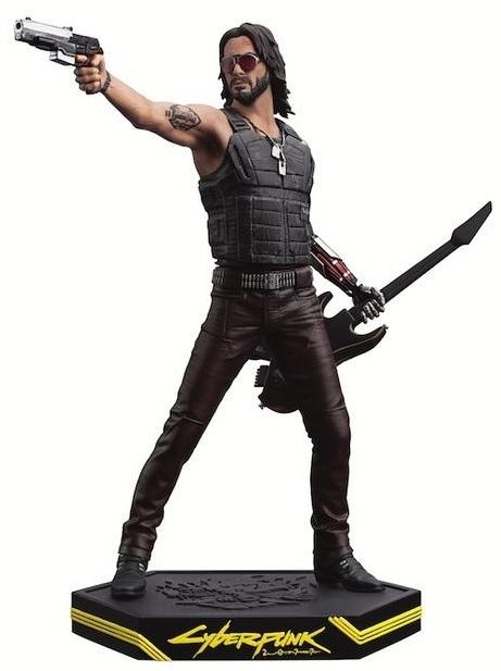 "Cyberpunk 2077: Johnny Silverhand - 8"" Statue"