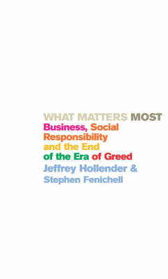 What Matters Most by Jeffrey Hollender image