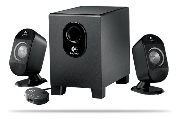 Logitech X210 2:1 Speaker System with Subwoofer image