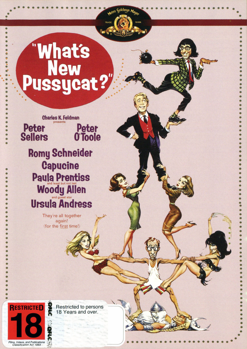 What's New Pussycat? (New Packaging) on DVD image