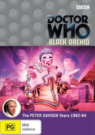 Doctor Who: Black Orchid on DVD image
