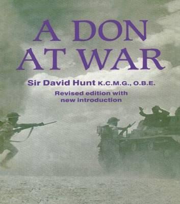 A Don at War by David Hunt