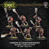 Hordes: Minions Farrow Slaughterhousers Unit