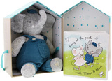 Meiya & Alvin: Alvin the Elephant Plush - Deluxe Plush Gift Set
