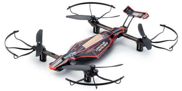 Kyosho 1:18 Radio Control Drone Racer Zephyr Ready Set (Black)