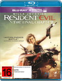 Resident Evil: The Final Chapter on Blu-ray