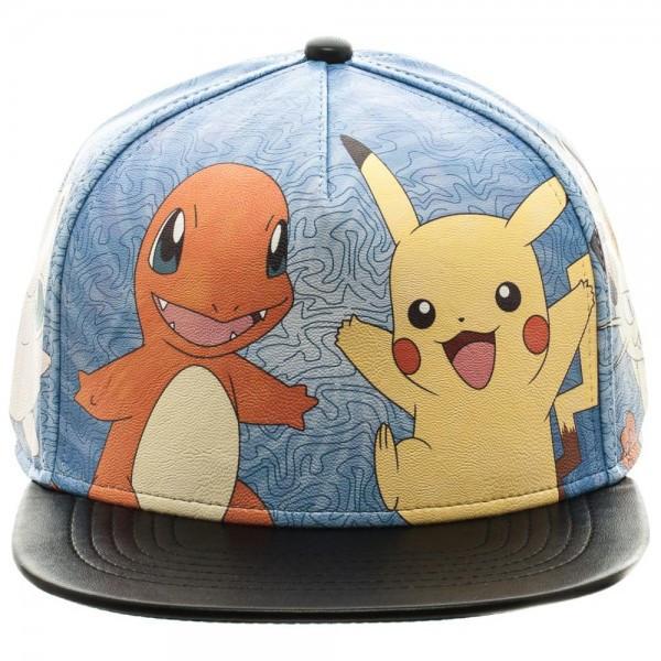 Pokemon: Printed - PU Snapback Hat image