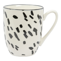 Etta Black and White Ola Mug (8.5 x 11cm)