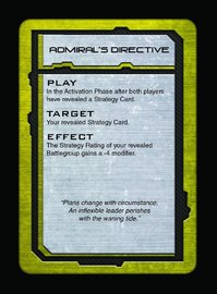 Dropfleet Commander: PHR - Command Cards image