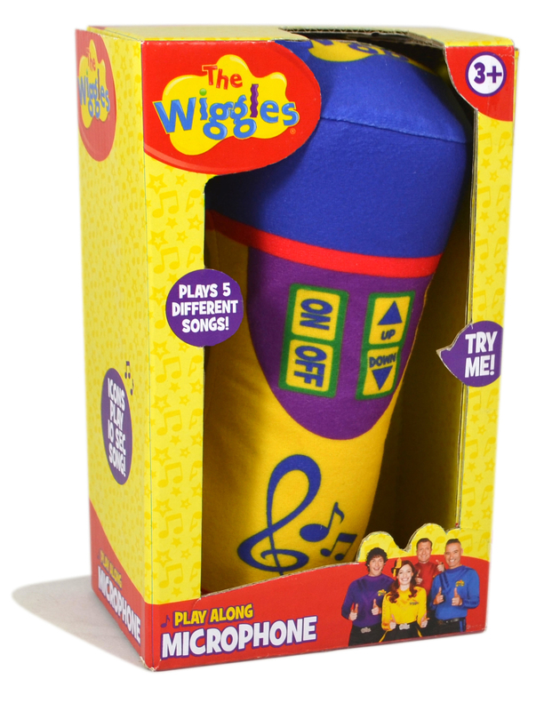 The Wiggles: Plush Microphone - With Sound