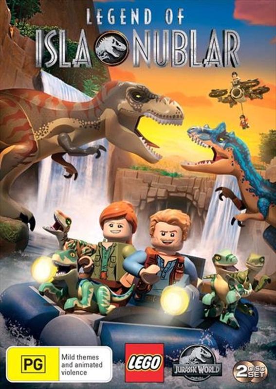 Lego Jurassic World: Legend of Isla Nublar on DVD