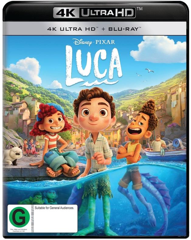 Luca (4K UHD + Blu-Ray) on UHD Blu-ray