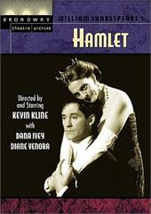 Hamlet (Broadway Theatre Archive) on DVD