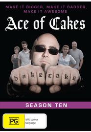 Ace Of Cakes - Season Ten on DVD
