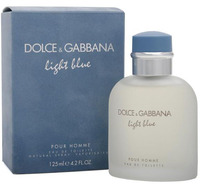 Dolce & Gabbana - Light Blue Pour Homme Fragrance (125ml EDT)