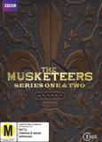 The Musketeers Season 1-2 DVD