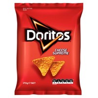 Doritos Corn Chips Cheese Supreme (170g)