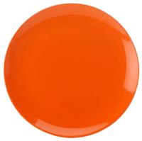 Maxwell & Williams Colour Basics Coupe Dinner Plate - Orange (28cm)
