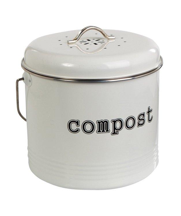 Compost Bin (White)