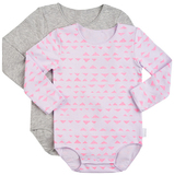 Bonds Stretchies Body Suit Long Sleeve - Mountain Days (6-12 Months)
