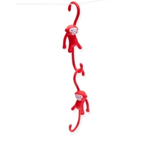 Monkey Business: Just Hanging Kitchen Hooks (Red) image