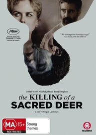 The Killing Of A Sacred Deer on DVD