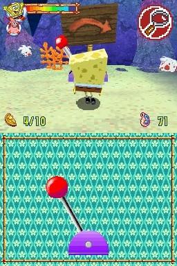 SpongeBob's Atlantis SquarePantis for Nintendo DS image