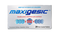 Maxigesic Pain Relief (20 Tablets)