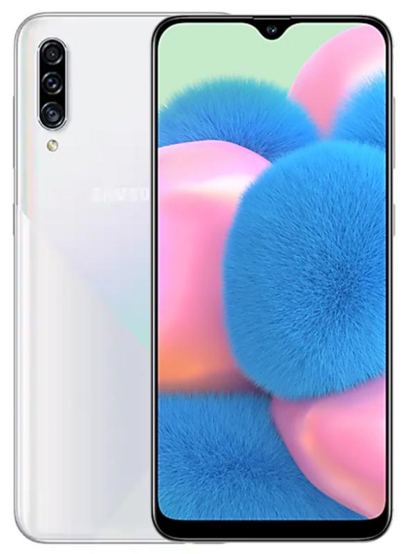 Samsung: Galaxy A30s - 128GB/ 4GB RAM (Prism Crush White)