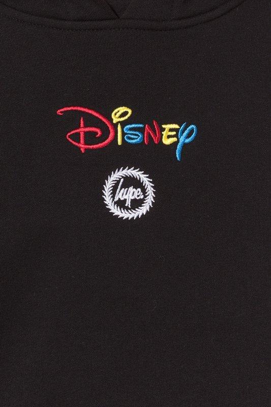 Just Hype: Disney Lockup Kids Pullover Hoodie - Black - 9-10y