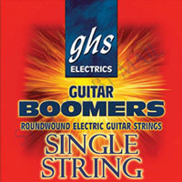 GHS 015 Guitar Boomers - Plain Steel Electric Guitar Single String