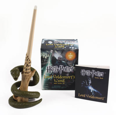 Harry potter voldemort 39 s wand with sticker kit in stock for Wand making kit