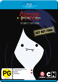 Adventure Time - The Complete Fourth Season on Blu-ray