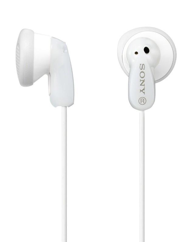 Sony: MDR-E9LP Earbud Headphones - White