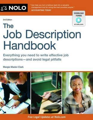 The Job Description Handbook by Margie Mader-Clark