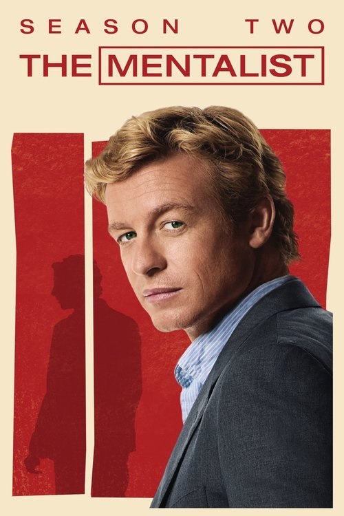 The Mentalist - The Complete 2nd Season (5 Disc Set) on DVD image
