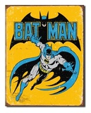 DC Comics: Batman - Retro Metal Sign