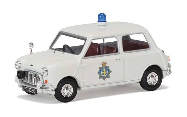 Corgi: 1/43 Mini Cooper S 'Durham Constabulary' Diecast Model