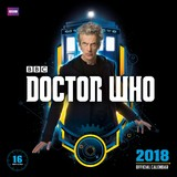 Doctor Who 2018 Square Wall Calendar