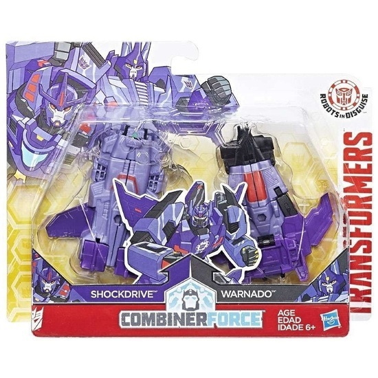 Transformers: Robots In Disguise Crash Combiners - Shocknado image