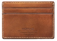 Nomad Card Case - Rustic Brown
