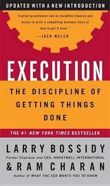 Execution by Larry Bossidy image
