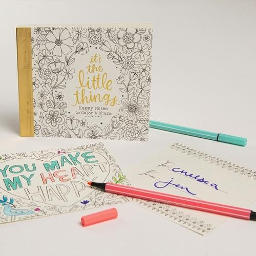 Natural Life: Happy Notes - Colouring