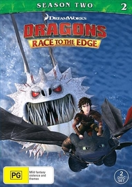 Dragons: Race to the Edge Season 2 on DVD